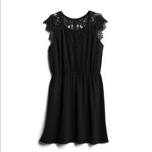 Black Lacy Sleevey Dress